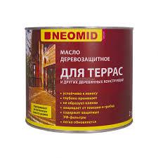 <b>Масло для террас</b> Neomid, тик, 2 л - купите по низкой цене в ...