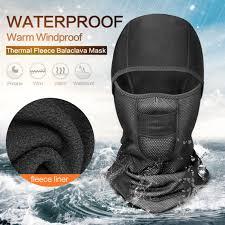 Outdoor Skiing Waterproof <b>Warm Mask</b> Winter Windproof <b>Warm</b> ...