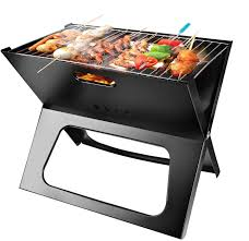 Moclever Portable Charcoal Grill, Space-Saving & <b>Foldable BBQ</b> ...