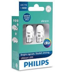 Светодиодные <b>лампы Philips Ultinon LED</b> W5W (T10) 6000K ...