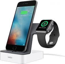 <b>Док</b>-<b>станция</b> Belkin PowerHouse для <b>Apple Watch</b> + iPhone white ...