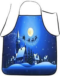 Kanzd Women Christmas Waterproof Apron Kitchen ... - Amazon.com