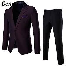 2019 <b>Genuo</b> 2018 Men Suits For Wedding <b>Dress</b> Fashion Men Two ...