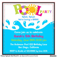 pool party invitation template word ukrobstep com swimming pool invitations templates template party