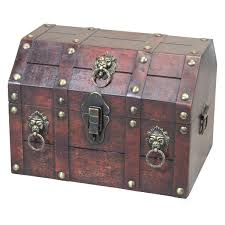 <b>Large</b> Pirate <b>Treasure Chest</b> | Wayfair