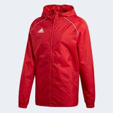 <b>adidas Ветровка Core 18</b> - красный | <b>adidas</b> Россия
