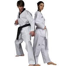 Hotsale Taekwondo Uniform suite <b>Adult child Breathable cotton</b> WTF ...