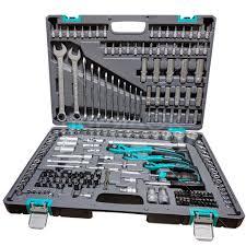 <b>Набор инструментов Stels</b> 1/4, 3/8, 1/2 CrV S2 <b>14115</b>, 216 ...