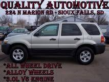 Used 2005 Ford Escape 4WD XLT for sale in SIOUX FALLS, SD ...