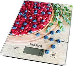 Купить <b>Кухонные весы Marta MT</b>-<b>1634</b> Ягодный пирог в интернет ...