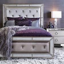 bedroom grey purple ideas color