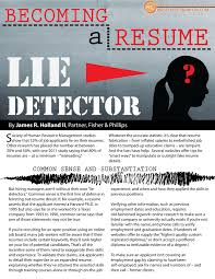 human resources archives hospitality risk solutions hospitality industry resume lie detection page 001