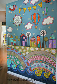 More Fence Mural Ideas Back Yard Pinterest Paint Walls And - Bedroom wall murals ideas