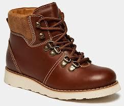 Ботинки <b>BROS</b>-<b>D</b> (цвет коричневый, натуральная кожа,спилок ...