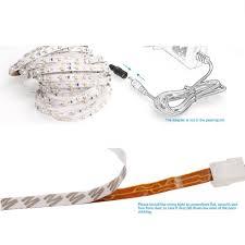 <b>ZDM</b> 5M 24W Non-Waterproof 2835 <b>LED Light Strip</b> and 12V/2A ...