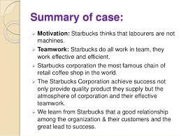 starbucks corporation case study Tutor u