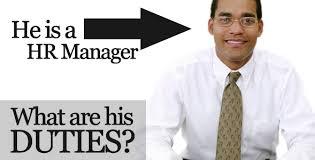 hr manager job description samplehuman resources hr manager duties responsibilities