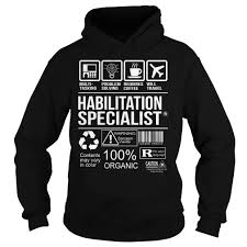 awesome tee for habilitation specialist