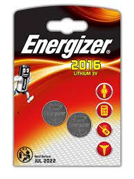 <b>Батарейка Energizer Lithium CR2016</b> 2шт 1162326: купить за 285 ...