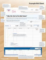 bid sheets improve your silent auction better bid sheets silent auction bid sheets example bid sheet