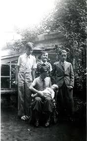 Digne, Septembre 1936 : : Michel Lecarme et Jacqueline ; Joseph ... - 36-38033