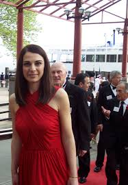 lana todorovich fashion executive and humanitarian among 100 nasser kazeminy lana todorovich arriving at ellis island