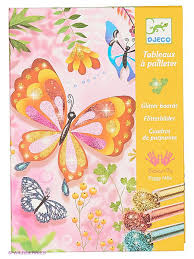 "<b>Раскраска</b> ""<b>Блестящие бабочки</b>"" <b>DJECO</b> 2803525 в интернет ..."