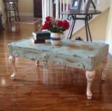 room vintage chest coffee table: coffee table from old trunk lid painted in a shabby