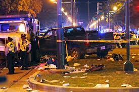Dozens hurt after 'drunk' driver plows into Mardi Gras crowd   New ...