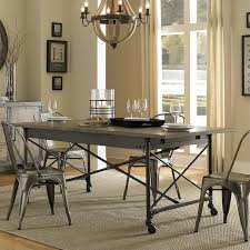 dining table with wheels: magnussen walton wood rectangular dining table