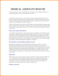 11 resume objectives for medical assistant itemplated resume objectives for medical assistant medical objective for resume work history and education png