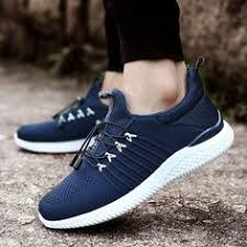 Flat Lace-Up Breathable <b>Men's</b> Casual Shoes in 2019 | Sport Shoes ...
