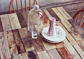 wood pallet table diy a beautiful mess beautiful wood pallet outdoor furniture