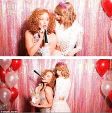 Image result for taylor swift and abigail 2016