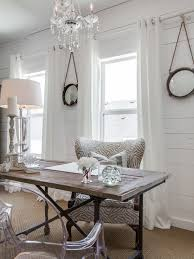 shabby chic style home office design ideas remodels photos chic home office design