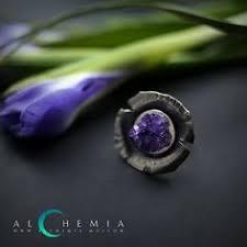 The Cristall <b>ring</b>. Silver, amethyst. Handmade by <b>Alchemia</b> Jewellery ...
