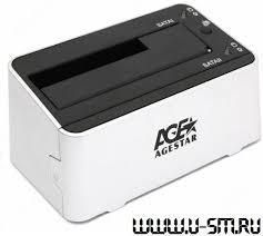 Обзор и тест <b>док</b>-<b>станции</b> / дубликатора <b>AgeStar</b> 3UBT3
