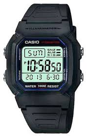 Купить Наручные <b>часы CASIO</b> W-800H-1A по низкой цене с ...