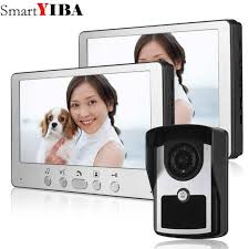 Online Shop SmartYIBA <b>Video</b> Doorbell <b>7</b>''<b>Inch</b> Monitor <b>Wired Video</b> ...