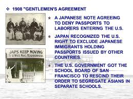 「1908, us-japan treaty for saving Japanese immigrants」の画像検索結果