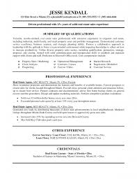 realestate s resume entry level real estate resume real estate agent resume account