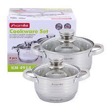 <b>Наборы посуды</b> для приготовления TM Kamille, TM Ofenbach ...