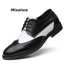 Misalwa <b>Italian</b> Stylish <b>Big Size 38 48</b> Men's Dress Shoes Blucher ...