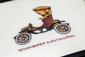 Antique <b>Car</b> Wall <b>Hanging</b> Hand Embroidered Old <b>Car 1904</b> | Etsy ...