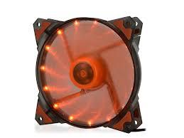 <b>Вентилятор Crown 120mm</b> Orange LED CMCF-12025S-1223 ...