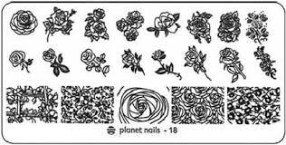 <b>Planet Nails</b>, <b>Пластина для</b> Stamping Nail Art (25 видов) - 18 | www ...