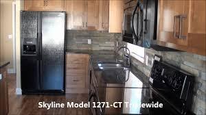 model mobile home kitchen