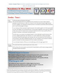 project newsletter project t e m p a collaborative european temp newsletter 3 2016