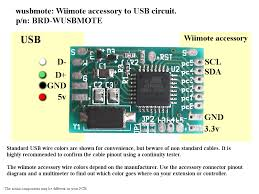 wusbmote wiimote accessory to usb adapter wiring instructions