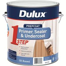 Dulux <b>4L</b> 1-Step Oil Based Primer Sealer Undercoat | Bunnings ...